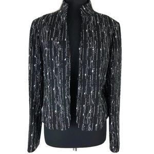 LAFAYETTE 148 New York Tweed Blazer Size 12